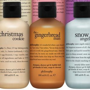 •the gingerbread man• 3 in 1 shampoo bubble wash